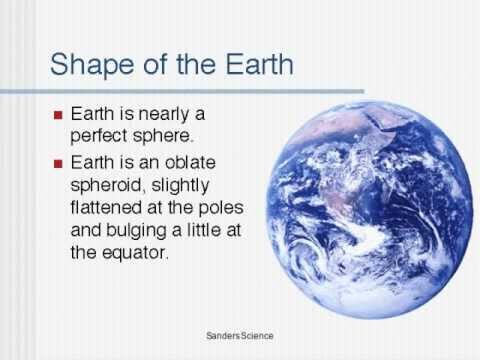 1-1 The Shape of the Earth