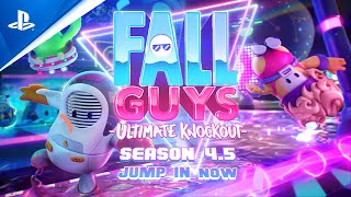 Fall Guys: Ultimate Knockout - Season 4.5 Gameplay Trailer | PS4