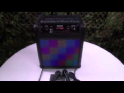 Numark Sing Master - Portable Karaoke Sound System (My New Favorite Toy)