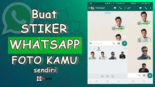 Download Video Cara Membuat Stiker Whatsapp dengan Foto Sendiri MP3 3GP MP4