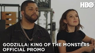 Godzilla: King Of The Monsters with Thomas Middleditch and Millie Bobby Brown (Promo) | HBO