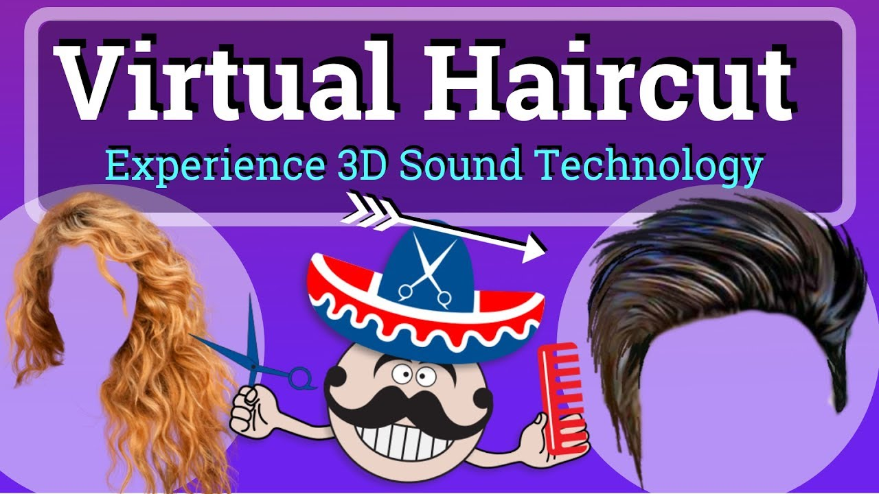 Virtual Haircut 3d Sound Youtube
