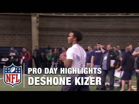 Deshone Kizer Pro Day Highlights & Mike Mayock's Analysis | NFL