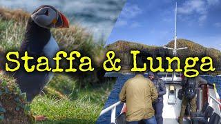 Gambar cover Fingal's Cave, Staffa Island, Isle of Lunga and puffins (Treshnish Isles), Scotland