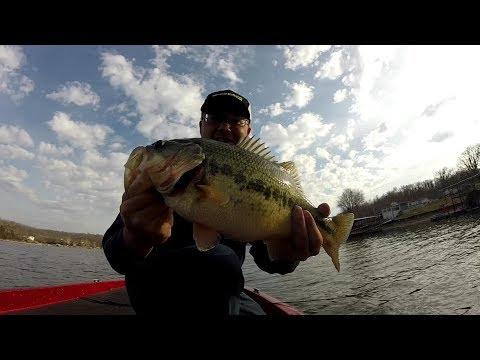Short fishing report on Lake Ozark 3/15/2018