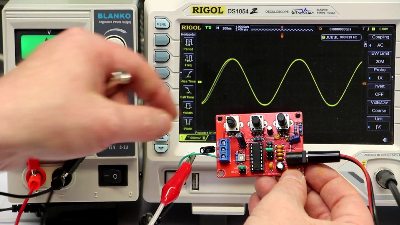 Fixing The Issues With The Xr Function Generator From
