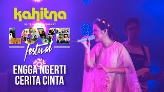 Download lagu Raisa - Engga Ngerti -mash up with- Cerita Cinta | (Kahitna Love Festival Concert)