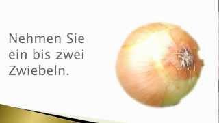Bronchitis Hausmittel Zwiebelsaft