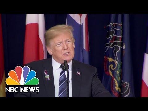 President Donald Trump Full Speech: Honors 9/11 Victims At Shanksville Memorial | NBC News