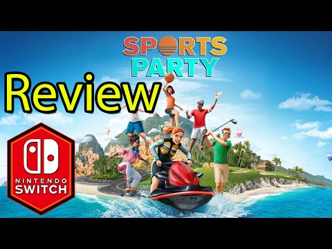 Sports Party Nintendo Switch Gameplay Review