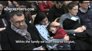 """Jubilee of Mercy for Families: """"May your homes be schools of forgiveness"""""""