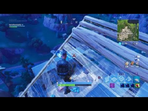 Covering up Tilted Towers with Spike Stadiums Pt 2 Fortnite