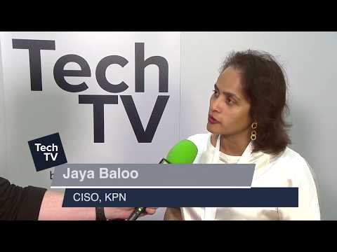 Jaya Baloo, KPN Telecom talks 5G network security at TechXLR8 2017