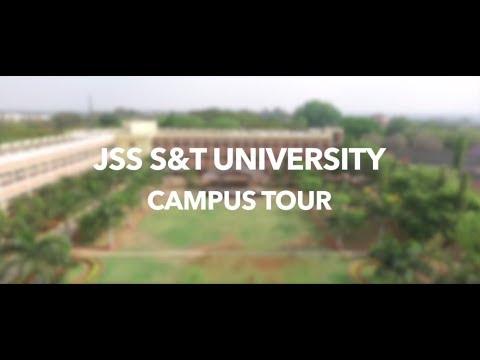 JSS S&T University || Campus Tour || Official