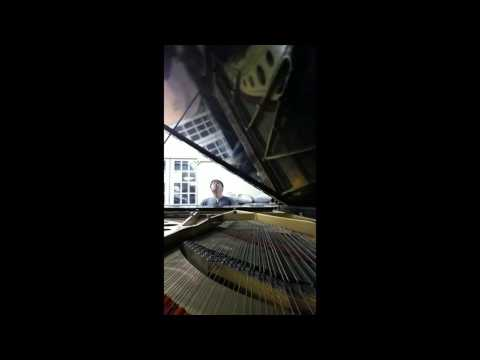 Beethoven Op 109 on an 1890 Chickering Concert Grand
