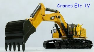 Diecast Masters Caterpillar 390F L Hydraulic Excavator by Cranes Etc TV