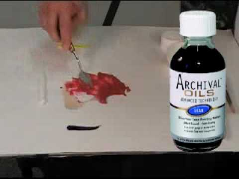 Chroma Archival Oil Paints