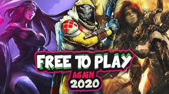 "🧐 Top Ten ""Free To Play"" Again 2020 | SKYLENT"