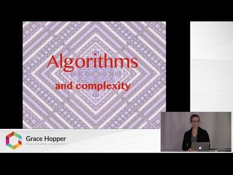 Tech Talk: A Brief Introduction to Algorithms and Complexity