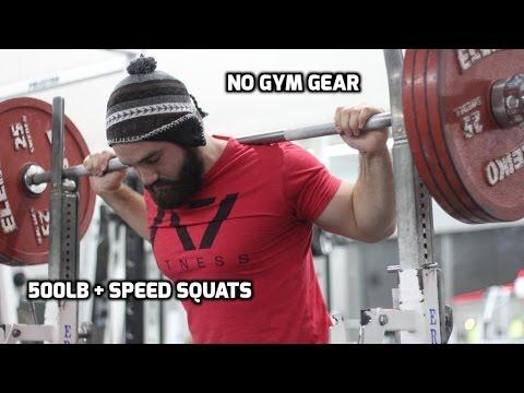 IPF Arnold Pro | 500+ LB speed squats | Week 4