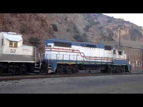Freeport McMoRan Industries Railway in Clifton, AZ (Part 2)