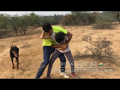 Emergency Self Defence for Young Kids and Girls by Royal Soldier