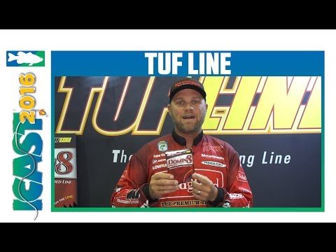 TUF Line 4orce Braid with Tackle Warehouse Pro Luke Clausen   ICAST 2016