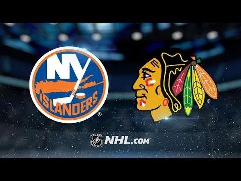 NEW YORK ISLANDERS VS CHICAGO BLACKHAWKS HIGHLIGHTS 3/3