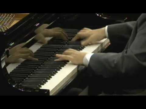 Nobuyuki Tsujii 辻井伸行  Liszt ハンガリア狂詩曲 第2番  2009 Van Cliburn International Piano Competition(WIDE)