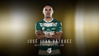 embeded bvideo Jose Juan Vázquez - Medio defensivo del año | Balón de Oro 2018
