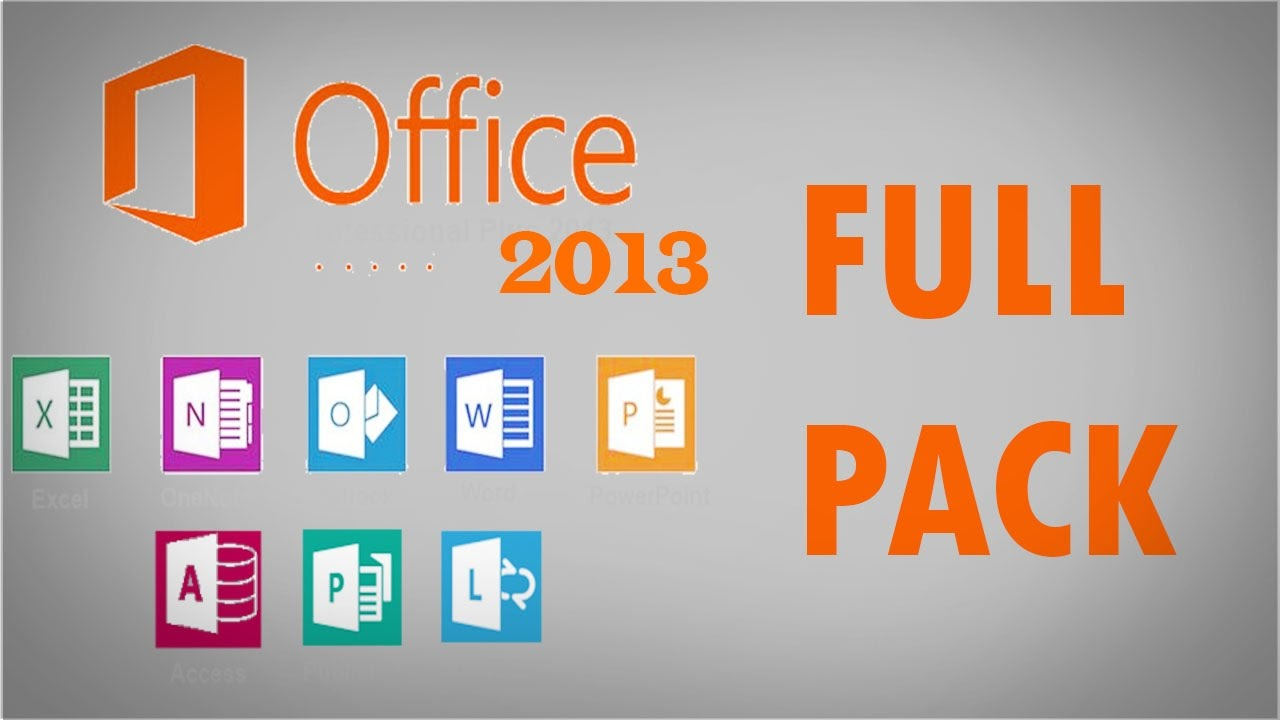 t u00e9l u00e9charger microsoft office 2013 full pack avec le crack      32  u0026 64 bits  u00e9dition