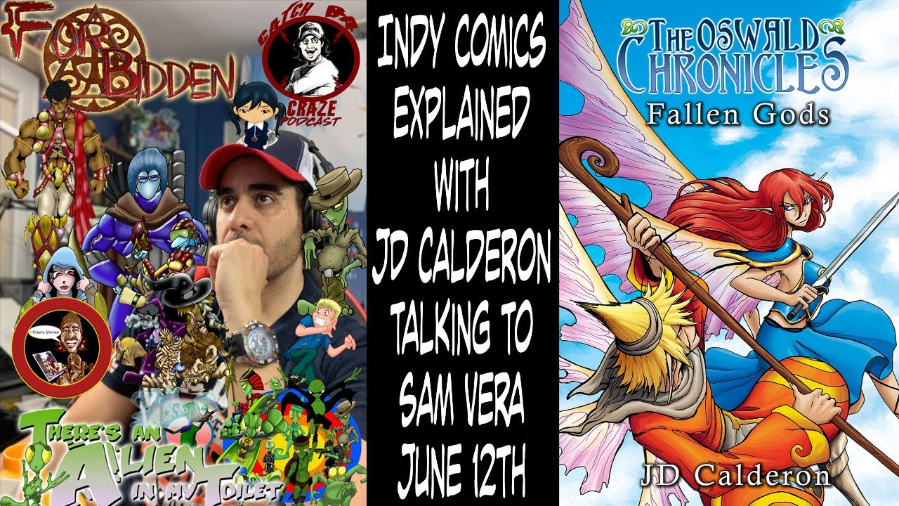 Creator Samuel interviewed on Indy Comics Explained Podcast