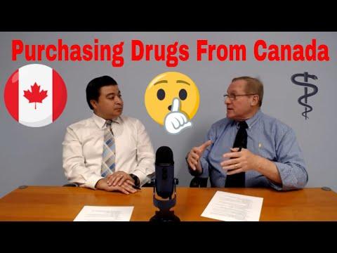 Purchasing Drugs From Canada | Pro Pharma Talks
