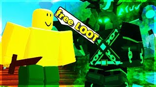 LVL 4 PRO GIVES OUT NIGHTMARE CANAL LOOT! (ROBLOX DUNGEON QUEST)