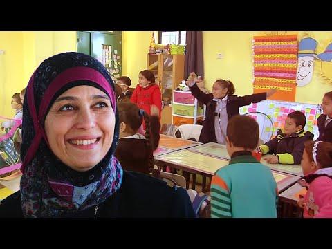 El Papa premió a una palestina como la mejor docente del mundo