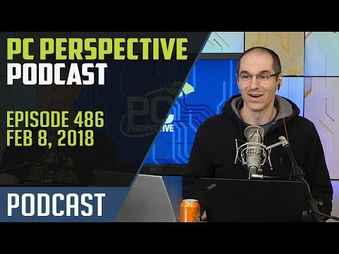 Podcast #486 - AMD Mobile APUs, new Xeon-D processors, EPYC offerings from Dell, and more!