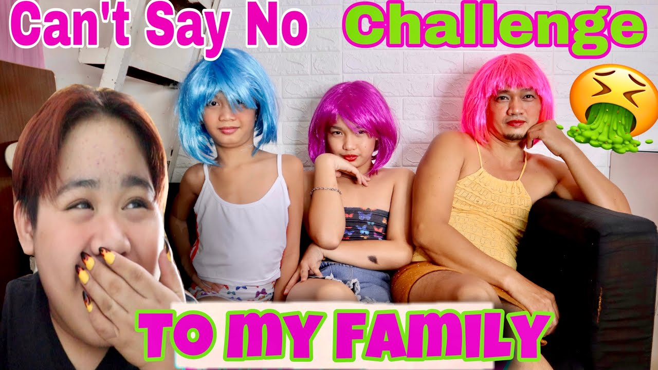 CAN'T SAY NO CHALLENGE(NAGING BABAE SILA FOR A DAY)LAPTRIP TO MGA BES||SAMMY MANESE||