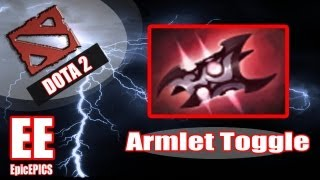 Dota 2 Advanced Guides: Armlet Toggling Drill
