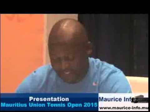 Présentation du Mauritius Union Tennis Open 2015