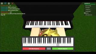 7 anos-Roblox piano//teclado