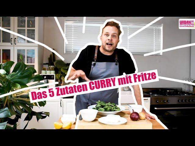 Das 5 Zutaten Curry mit FRITZE!