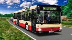 OMSI 2: STEINKIRCHEN mit dem MAN NÜ 263 Überlandbus #1: Wow - ein Wasserfall! Linie 14