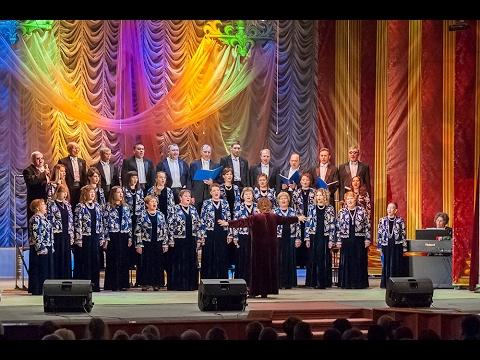 Юбилейный концерт  народного академического хора
