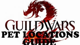 Guild Wars 2 - Ranger Juvenile Pet Locations Guide
