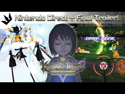 Breakdown: Nintendo Direct + Final Trailer ~ Kingdom Hearts Melody Of Memory Trailer Analysis