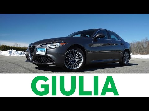 4K Review: 2017 Alfa Romeo Giulia Quick Drive | Consumer Reports