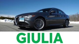 4K Review: 2017AlfaRomeo Giulia Quick Drive | Consumer Reports
