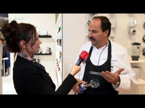 Johann Lafer im Interview bei Kenwood auf der IFA 2011