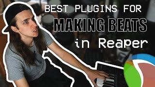 Best VST PLUGINS to make BEATS in Reaper! 🔌 | Beatgrinding in Reaper