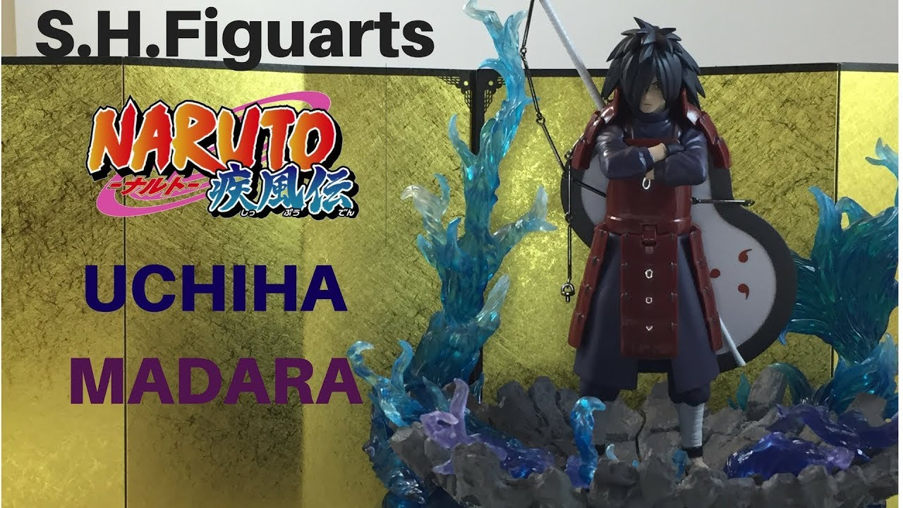 Shfiguarts Naruto Shippuden Uchiha Madara Action Figure Review Unboxing